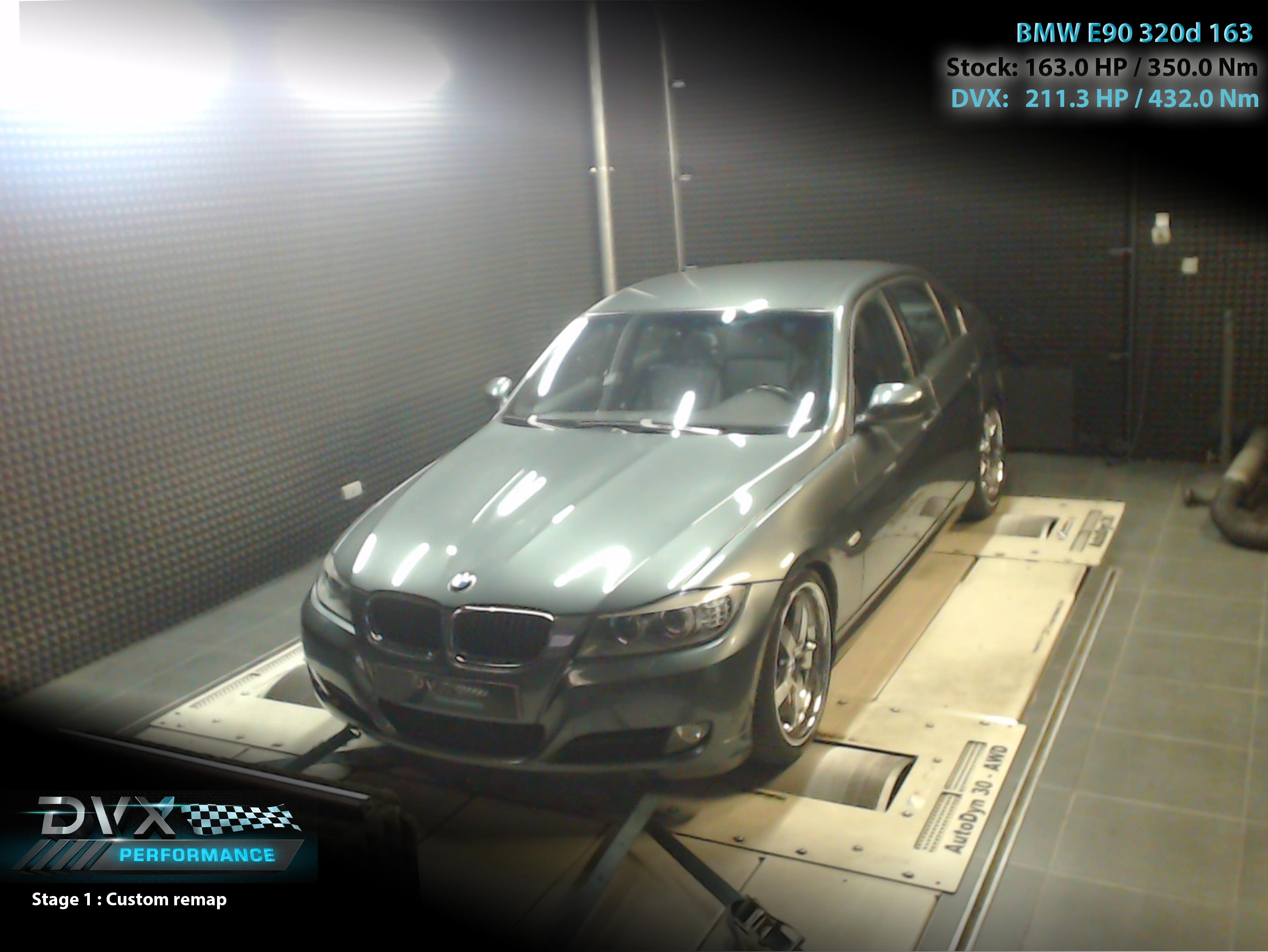 DVX Performance - BMW - E90 -2010 ->2011 - 320d - 163PK